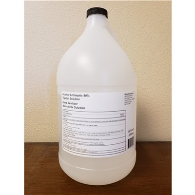 Sanitizing Solution, 80% 1 Gallon